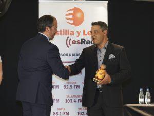 1ª Gala del deporte vallisoletano de EsRadio Castilla y León.